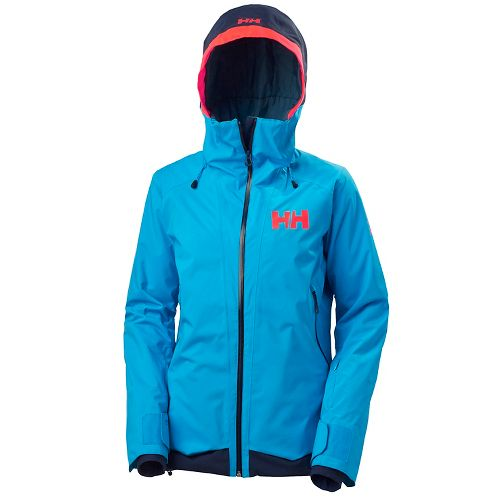Womens Helly Hansen Louise Cold Weather Jackets - Winter Aqua M