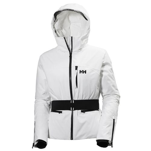 Womens Helly Hansen Paradise Cold Weather Jackets - White L