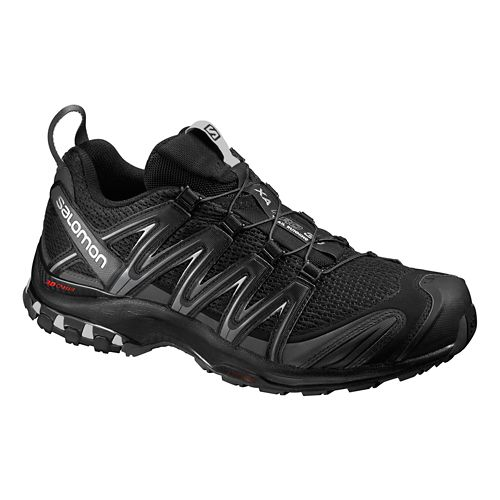 Mens Salomon XA Pro 3D Trail Running Shoe - Black/Grey 10