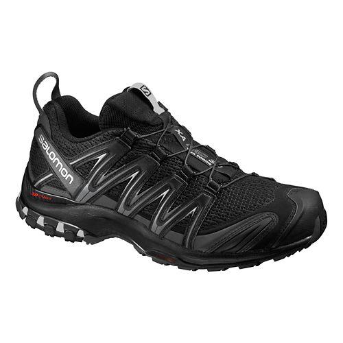 Mens Salomon XA Pro 3D Trail Running Shoe - Black/Grey 10.5