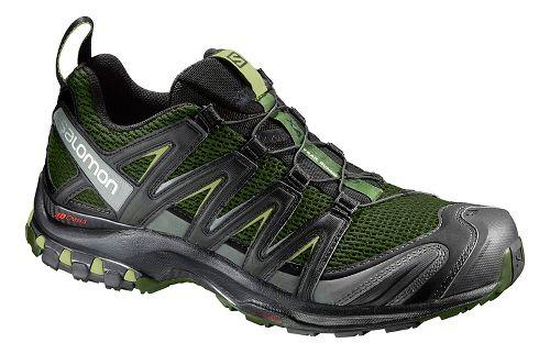 Mens Salomon XA Pro 3D Trail Running Shoe - Olive/Black 12
