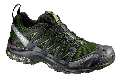 Mens Salomon XA Pro 3D Trail Running Shoe - Olive/Black 12.5