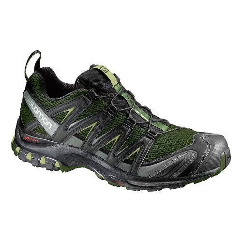 Mens Salomon XA Pro 3D Trail Running Shoe - Olive/Black 12.5