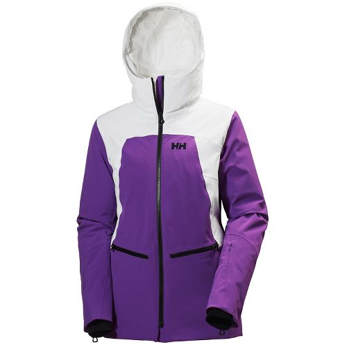 Womens Helly Hansen Silverstar Cold Weather Jackets - Sunburned Purple L