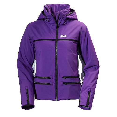 Womens Helly Hansen Star Cold Weather Jackets - Sunburned Purple M