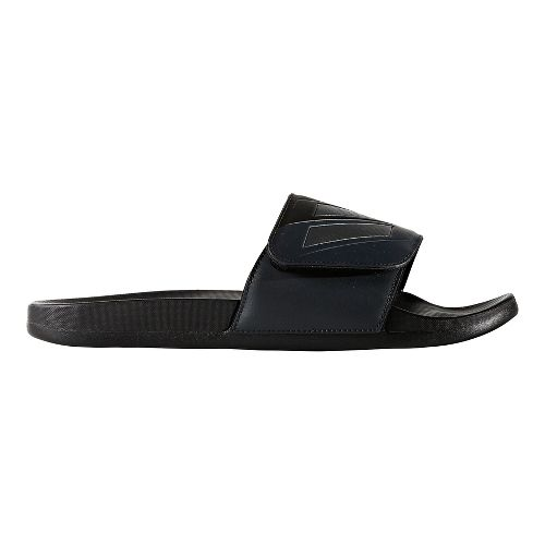 Mens adidas Adilette CF+ ADJ Sandals Shoe - Core Black/Night 11