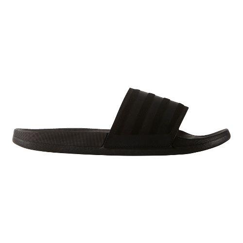 Mens adidas Adilette CF Ultra Explorer Sandals Shoe - Core Black 11