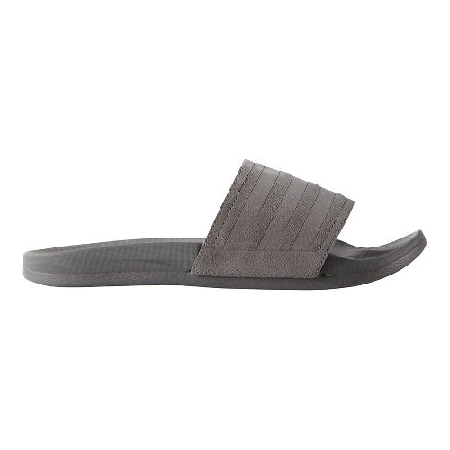 Mens adidas Adilette CF Ultra Explorer Sandals Shoe - Grey/Vista Grey 6
