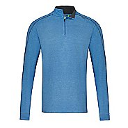 Mens Tasc Performance Core 1/4-Zip Heather Long Sleeve Technical Tops