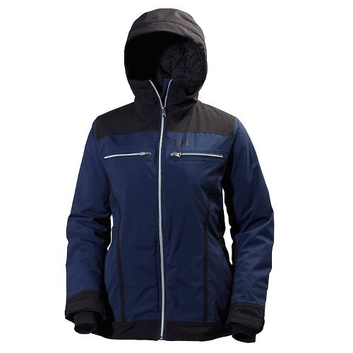 Womens Helly Hansen Belle Cold Weather Jackets - Evening Blue L