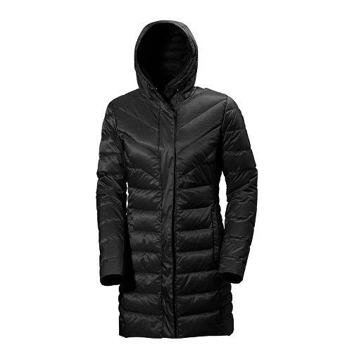 Womens Helly Hansen Saga Down Parka Cold Weather Jackets - Black M