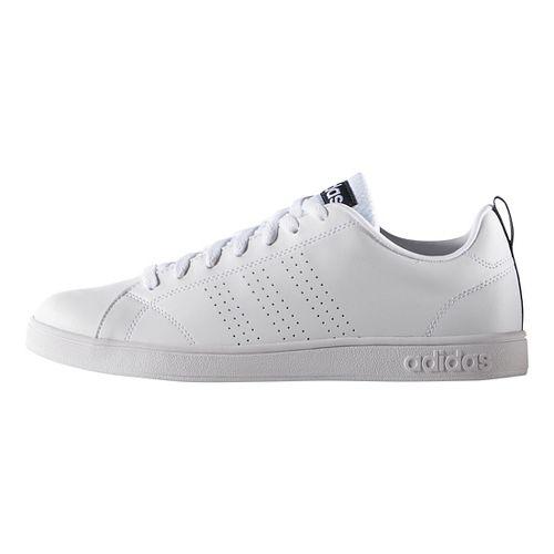 Mens adidas Advantage Clean VS Casual Shoe - White 9