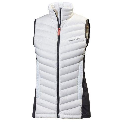 Womens Helly Hansen Verglas Down Insulator Vest Cold Weather Jackets - Printed White M