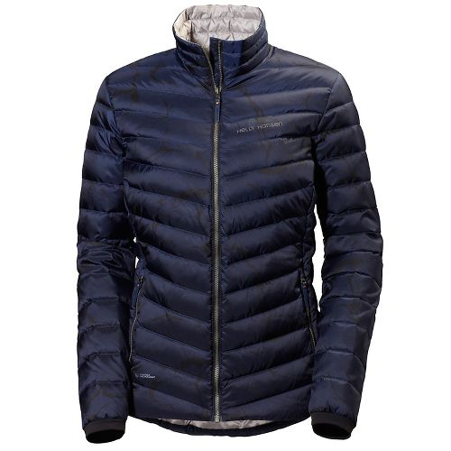Womens Helly Hansen Verglas Down Insulator Cold Weather Jackets - Marble Evening Blue S