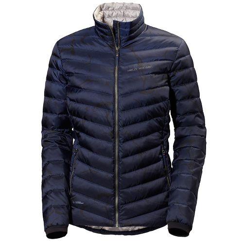 Womens Helly Hansen Verglas Down Insulator Cold Weather Jackets - Marble Evening Blue XS