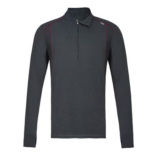 Mens Tasc Performance Circuit 1/4-Zip Long Sleeve Technical Tops - Gunmetal S