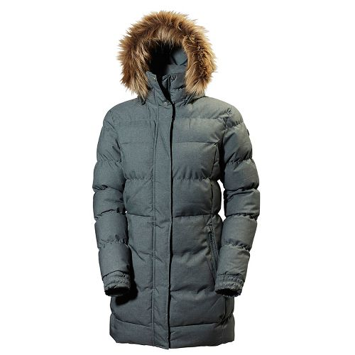 Womens Helly Hansen Blume Puffy Parka Cold Weather Jackets - Rock M