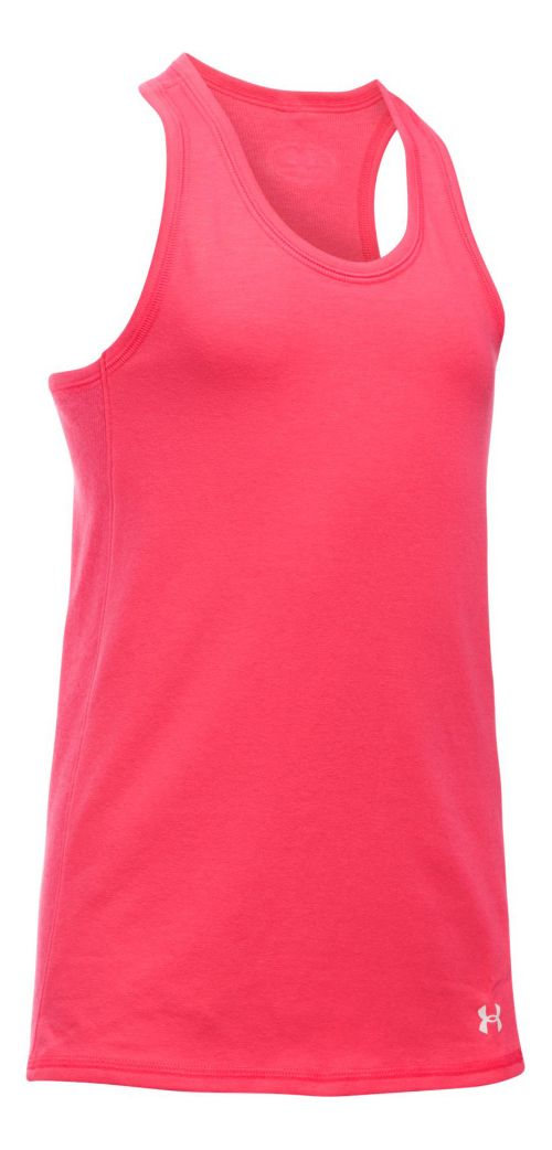 Under Armour Girls Favorite Knit Sleeveless & Tank Tops Technical Tops - Gala YL