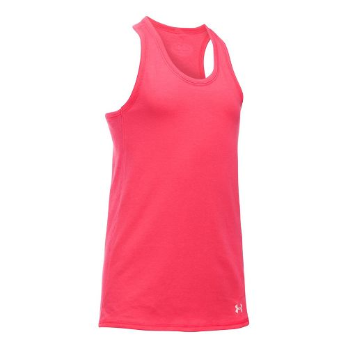 Under Armour Girls Favorite Knit Sleeveless & Tank Tops Technical Tops - Gala YM