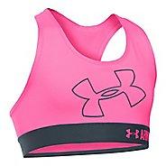 Under Armour Girls Logo Armour Sports Bras