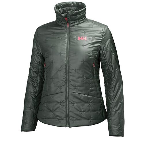 Womens Helly Hansen Cross Insulator Cold Weather Jackets - Rock M