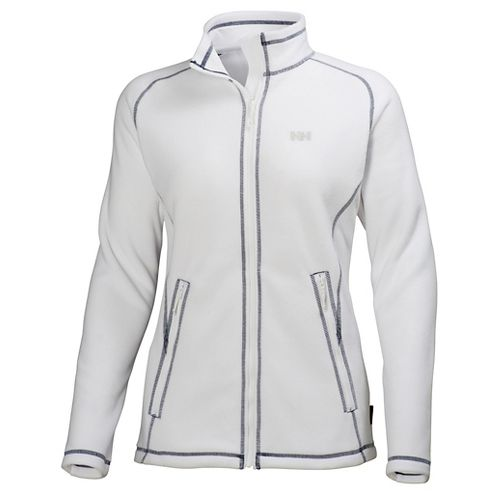 Womens Helly Hansen Zebra Fleece Cold Weather Jackets - White XS