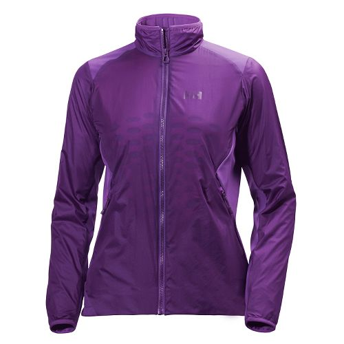 Womens Helly Hansen H2 Flow Cold Weather Jackets - Sunburned Purple L