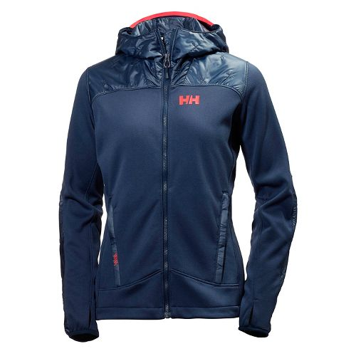 Womens Helly Hansen Ullr Midlayer Cold Weather Jackets - Evening Blue M