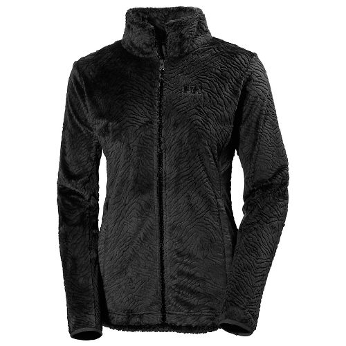 Womens Helly Hansen Precious 2 Fleece Cold Weather Jackets - Black XS