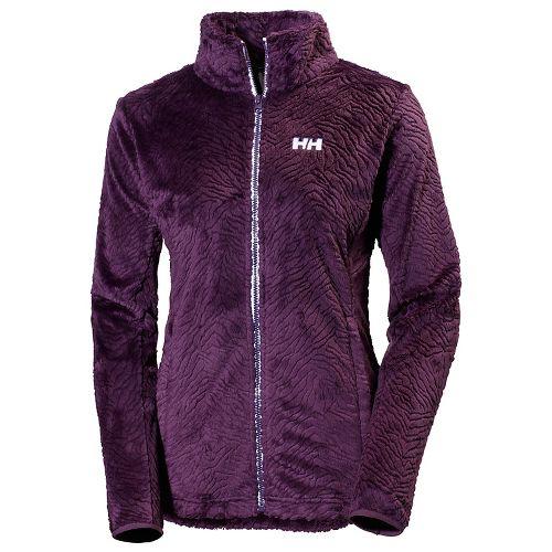 Womens Helly Hansen Precious 2 Fleece Cold Weather Jackets - Dark Violet S