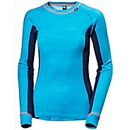 Womens Helly Hansen HH Warm Ice Crew Long Sleeve Technical Tops