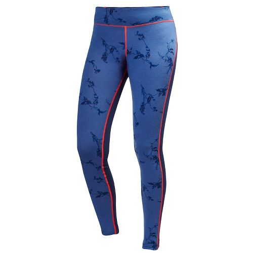 Womens Helly Hansen HH Wool Graphic Pants - Evening Blue Symbiosis S