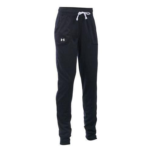 Under Armour Girls Tech Jogger Pants - Black YS