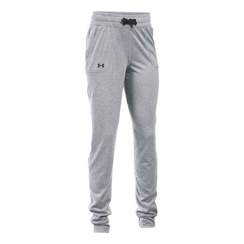 Under Armour Girls Tech Novelty Jogger Pants - Stealth Grey YS