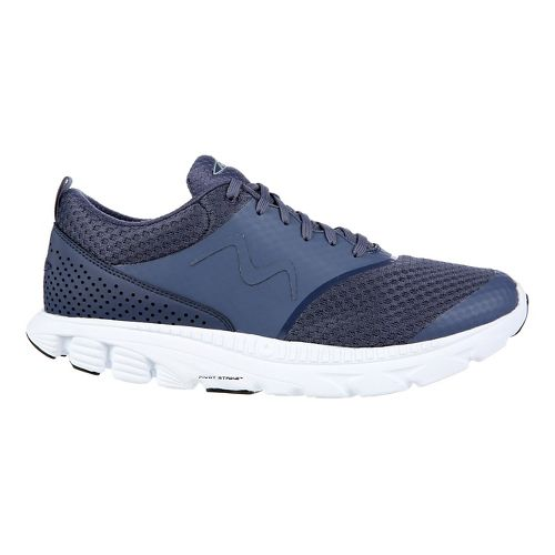 Mens MBT Speed 17 Lace Up Running Shoe - Navy 8