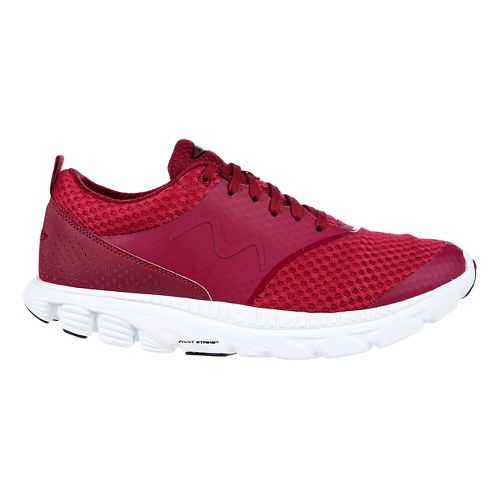 Mens MBT Speed 17 Lace Up Running Shoe - Wine 8