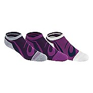 Womens ASICS Abby No Show 3 Pack Socks