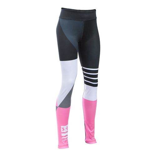 Under Armour Girls Mix Master Tights & Leggings Pants - Black YL