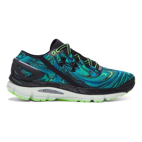 Mens Under Armour Speedform Gemini 2 Psychedelic Running Shoe - Meridian Blue/Mint 10