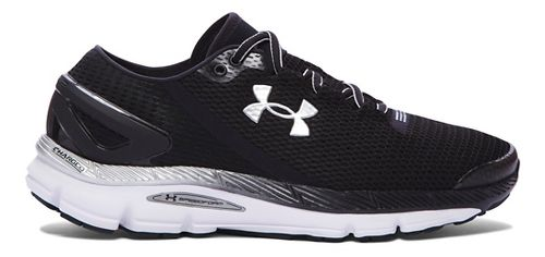 Mens Under Armour Speedform Gemini 2.1 Running Shoe - Black/White 10.5