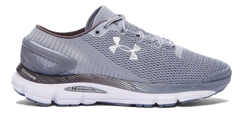 Mens Under Armour Speedform Gemini 2.1 Running Shoe - Steel/White 7.5