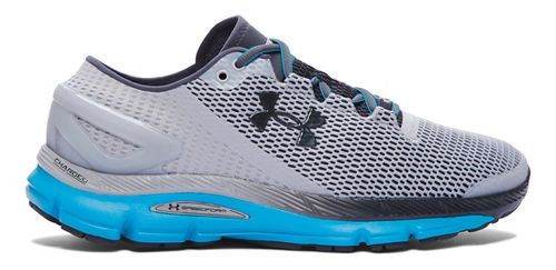 Mens Under Armour Speedform Gemini 2.1 Running Shoe - Overcast Grey/Blue 9.5