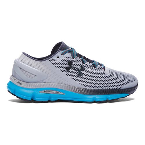 Mens Under Armour Speedform Gemini 2.1 Running Shoe - Overcast Grey/Blue 12