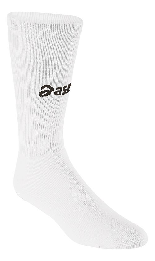 ASICS All Sport Court Knee High 3 Pack Socks - White M