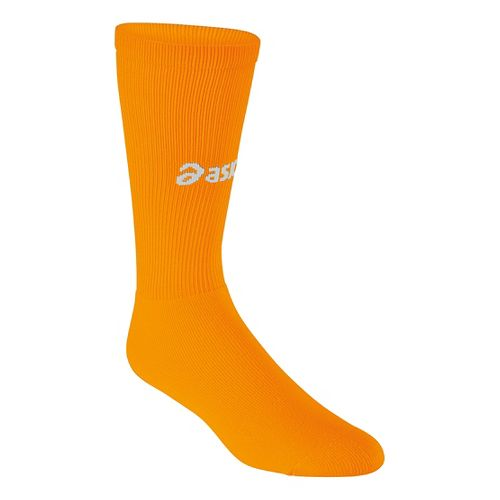 ASICS All Sport Court Knee High 3 Pack Socks - Neon Orange XL