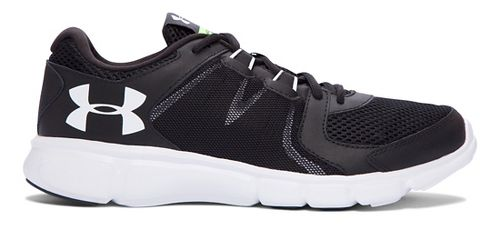 Mens Under Armour Thrill 2  Running Shoe - Black/White 11.5
