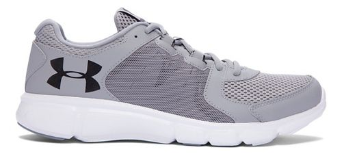 Mens Under Armour Thrill 2  Running Shoe - Steel/White 10