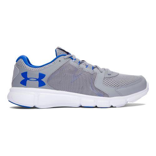 Mens Under Armour Thrill 2  Running Shoe - Grey/Blue 9