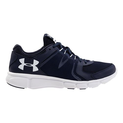 Mens Under Armour Thrill 2 Running Shoe - Midnight Navy/White 11.5