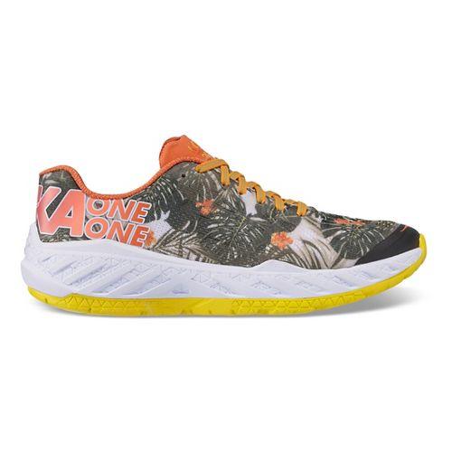 Mens Hoka One One Clayton Kona Running Shoe - Tropical 13